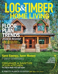 Log and Timber Home Living | 8/2020 Cover