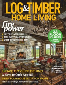 Log and Timber Home Living | 10/2020 Cover