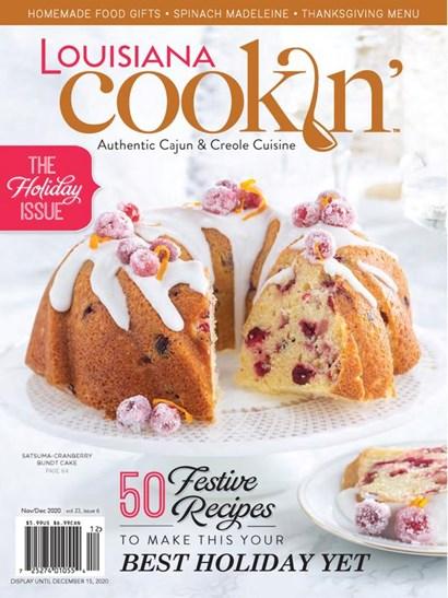 Louisiana Cookin' | 11/2020 Cover