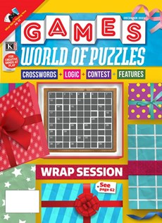 Games World of Puzzles | 12/2020 Cover
