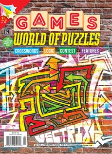 Games World of Puzzles | 1/2021 Cover