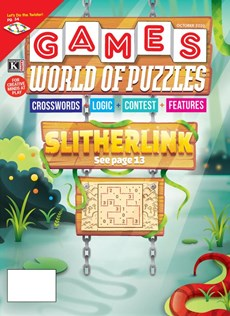 Games World of Puzzles | 10/2020 Cover