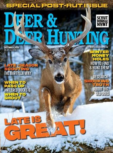 Deer & Deer Hunting   12/2020 Cover
