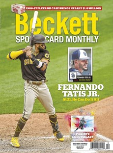 Beckett Sports Card Monthly | 10/2020 Cover