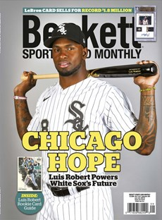 Beckett Sports Card Monthly | 9/2020 Cover