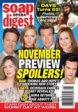 Soap Opera Digest | 11/2020 Cover
