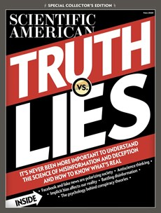 Scientific American   10/2020 Cover