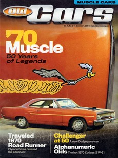 Old Cars   11/2020 Cover