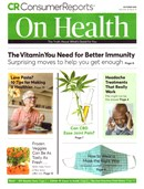 Consumer Reports On Health   10/2020 Cover
