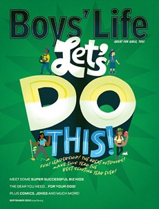 Boy's Life | 9/2020 Cover