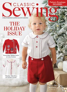 Classic Sewing | 12/2020 Cover