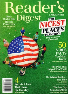 Reader's Digest - Large Print Edition | 11/2020 Cover