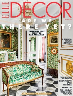 ELLE DECOR | 12/2020 Cover