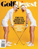 Golf Digest   12/2020 Cover