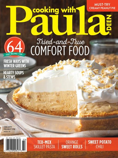 Cooking With Paula Deen | 1/2021 Cover