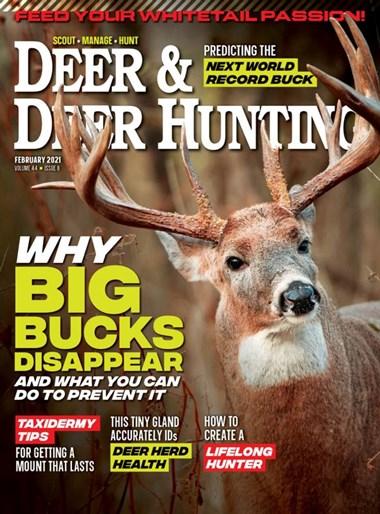 Deer & Deer Hunting   2/2021 Cover