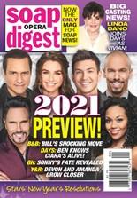 Soap Opera Digest   1/2021 Cover