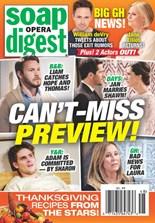 Soap Opera Digest   11/2020 Cover