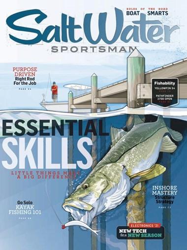 Salt Water Sportsman | 2/2021 Cover