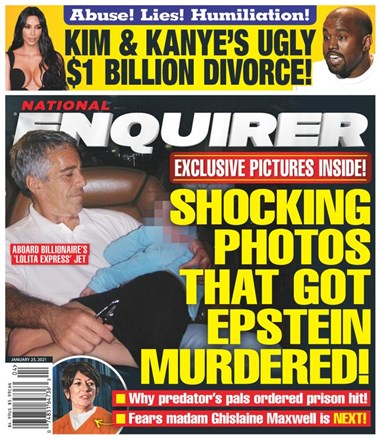 National Enquirer | 1/2021 Cover